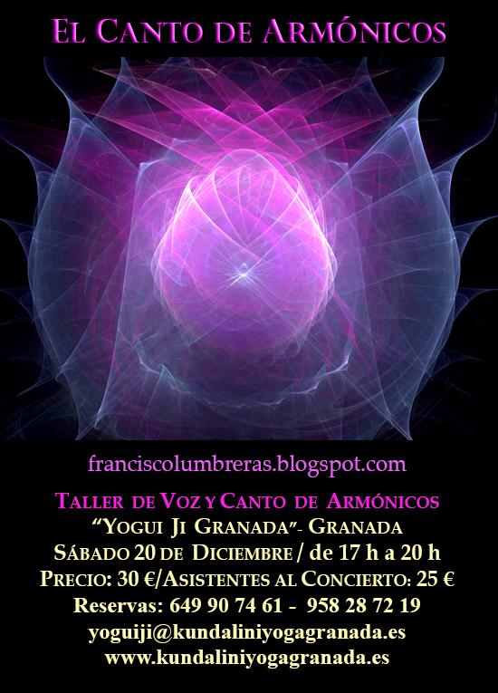 Taller de Canto de Armónicos - Francisco Lumbreras - 20/12/14