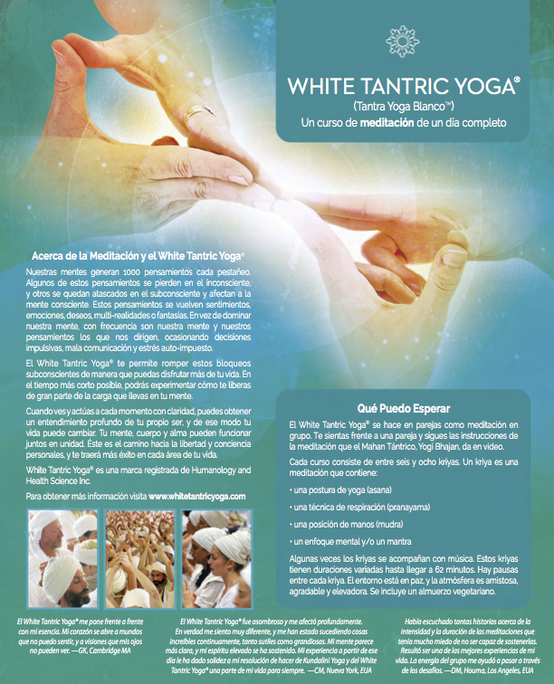 Tantra Yoga Madrid 2016