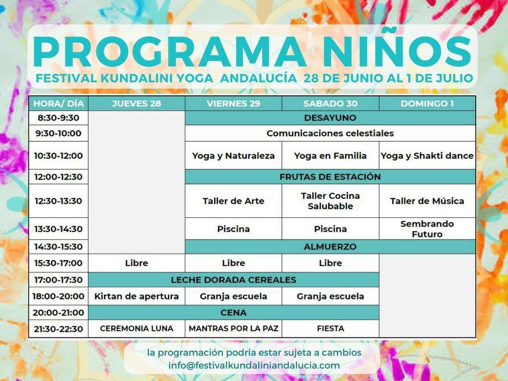 Programa niños