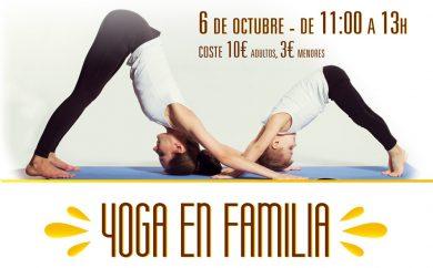 Clases de yoga en familia