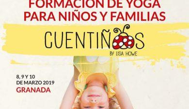 Formación yoga para niños y familias cuentiños