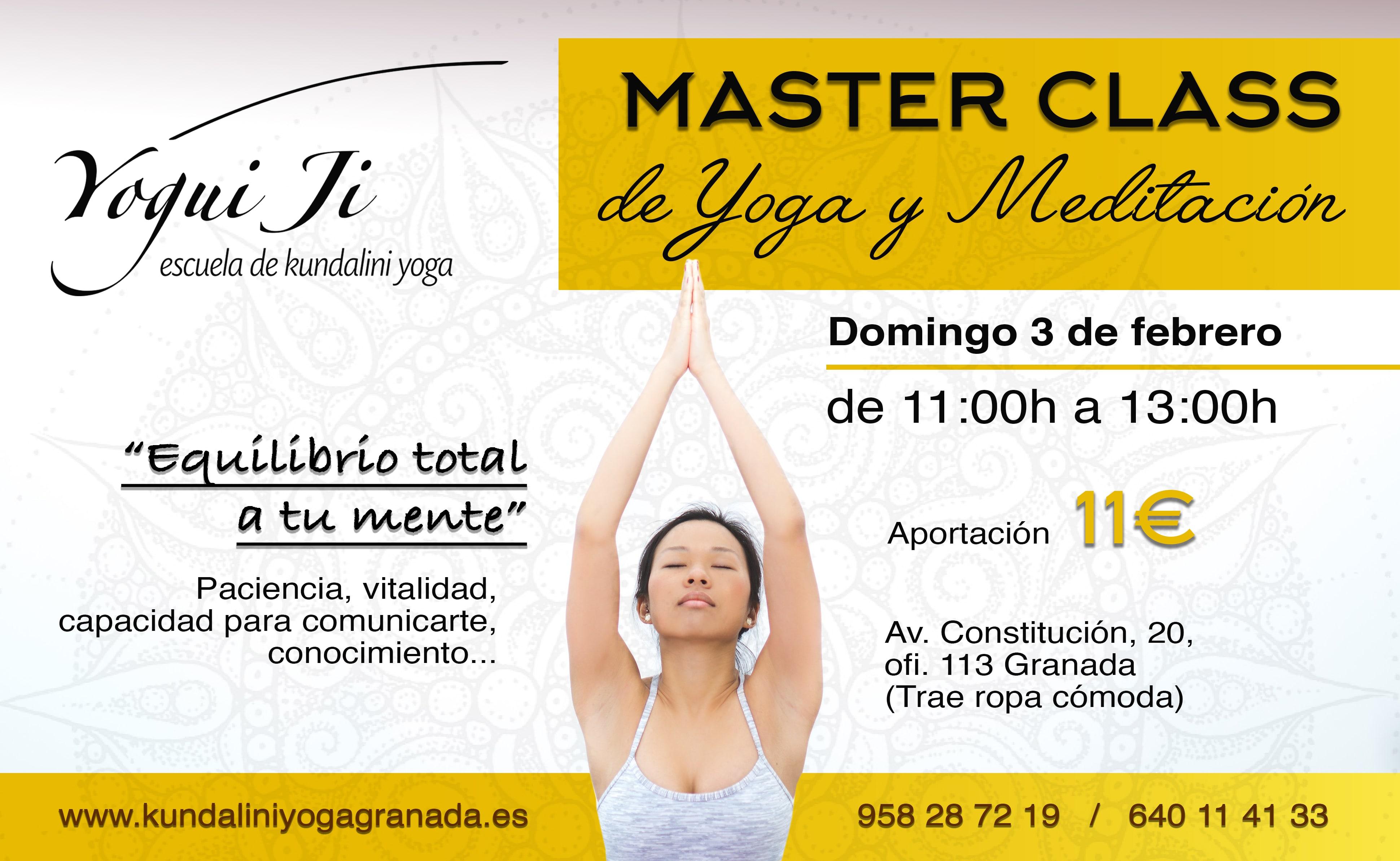 Escuela de Kundalini Yoga – Yogui Ji Granada » Master class de yoga ... b1241ebac18b
